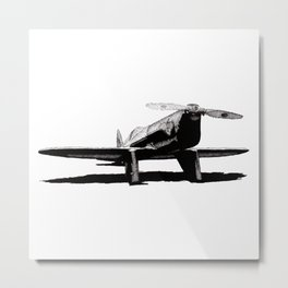 Delgado Flash Metal Print