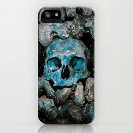 We Three Skulls iPhone Case