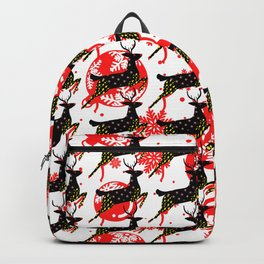 Reindeer Christmas Collection 05 Backpack