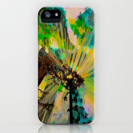 Rays through redwood forest iPhone Case
