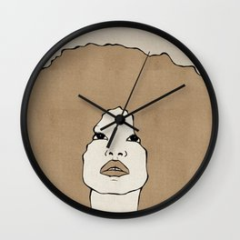 Female Two Wall Clock