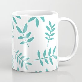 Background with branch silhouettes. Coffee Mug