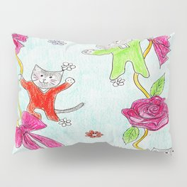Cats Pajama Party Pillow Sham
