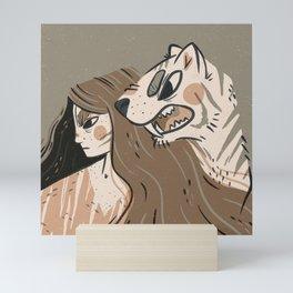Fierce Pals Mini Art Print