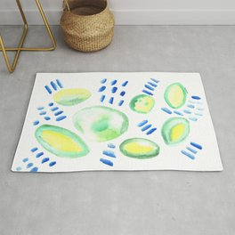 Creative Expression 11 | Abstract Shapes Drawing | Abstract Shapes Art| Watercolor Painting | Rug