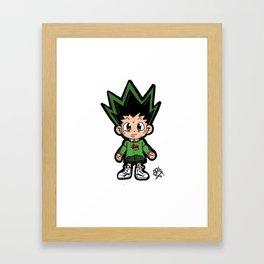 Hunter x Hunter - Gon Framed Art Print