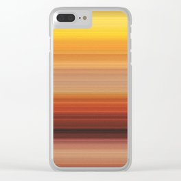 Autumn in the Canyon Clear iPhone Case