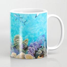 Shiver - Sharks in the Reef Coffee Mug