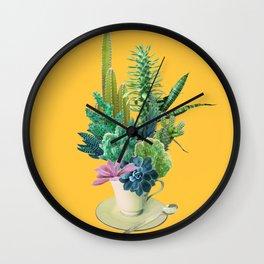 Arid garden Wall Clock