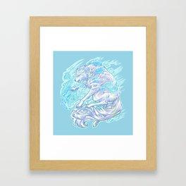 Frost Bite Framed Art Print