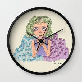 Fear Wall Clock