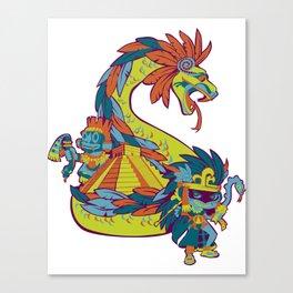 Mexican Gods Canvas Print