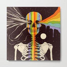 Dark Side of Existence Metal Print