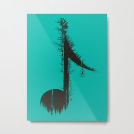 Nature has music for those who listen Metal Print