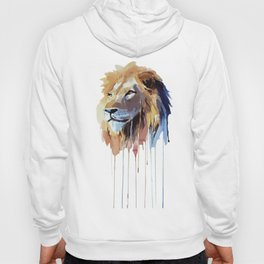 The Lion - watercolor Hoody