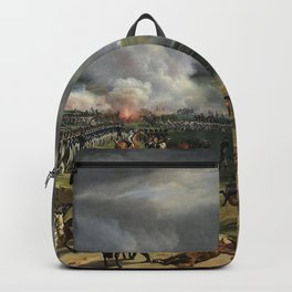 Classical Masterpiece: the Battle of Vernet Valmy by Emile Jean Horace Backpack