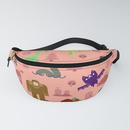 Cryptids of the PNW Fanny Pack