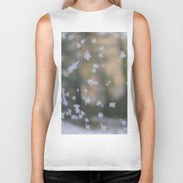 """It's frosty """"Ice Flower"""" #2 #art #society6 Biker Tank"""