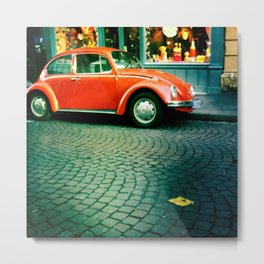 Punch Buggy Metal Print