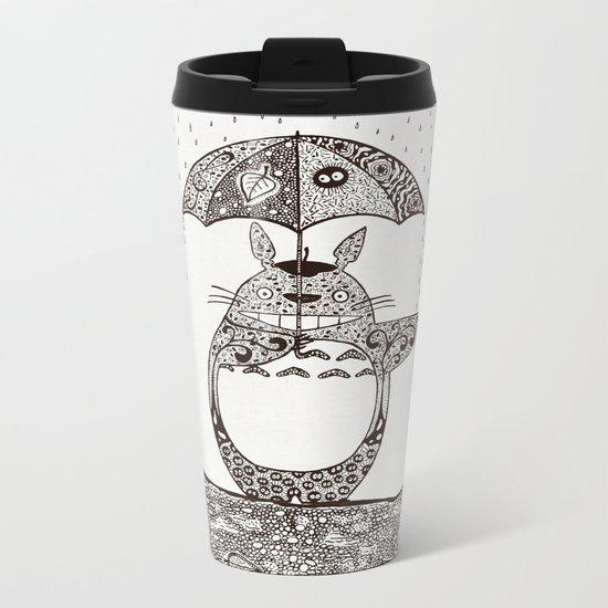 Happy Totoro Metal Travel Mug