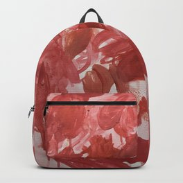 Chaotic Rose Patch Backpack