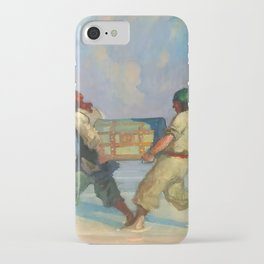 """""""Absconding With The Treasure"""" by NC Wyeth iPhone Case"""