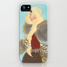 astrid hofferson iPhone Case