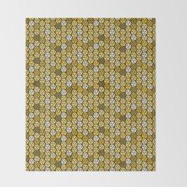 Gold 45 Throw Blanket