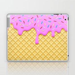 Strawberry Ice Cream Laptop & iPad Skin