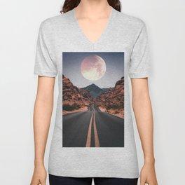 Mooned Unisex V-Neck
