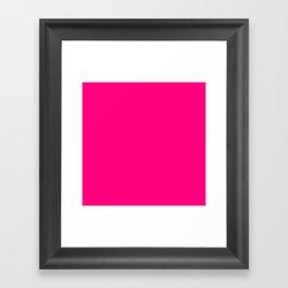 Hot Pink Framed Art Print