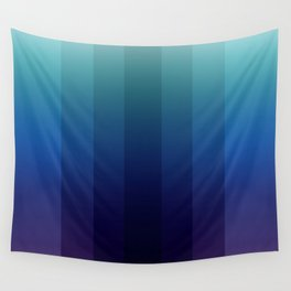 Steps 2-Blue Ombre Wall Tapestry