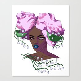 May Lily Canvas Print