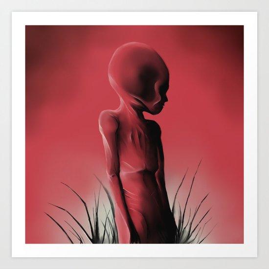 Dead Body Art Print