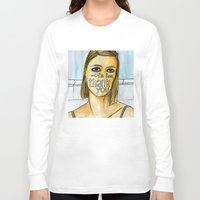 tenenbaum Long Sleeve T-shirts featuring Margot Tenenbaum. by Piltrafadas Ilustracion