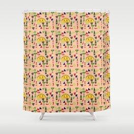 Taco Tuesday Shower Curtain