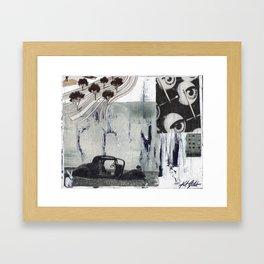 Degeneration Framed Art Print