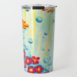 Aqua Fleur - Mazuir Ross Travel Mug