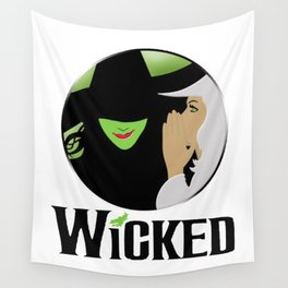 broadway musical wicked Wall Tapestry