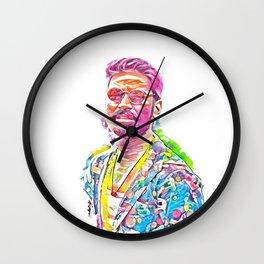 Dhanush - Maali (Creative Illustration Art) Wall Clock