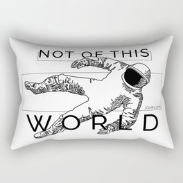 Astro-Not of This World Rectangular Pillow