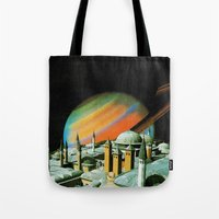 religion Tote Bags featuring The religion  by Hugo Barros
