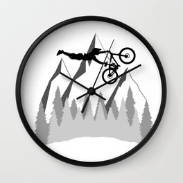 MTB Superman Wall Clock