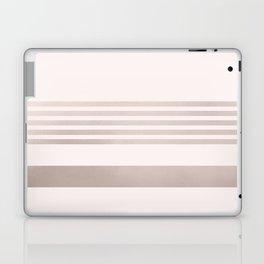 Rose Gold and Pink Stripes Mix Pattern 1 Laptop & iPad Skin