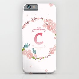 Letter C iPhone Case