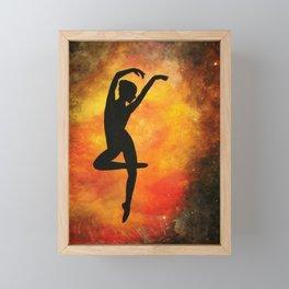Heavenly Dancer Framed Mini Art Print
