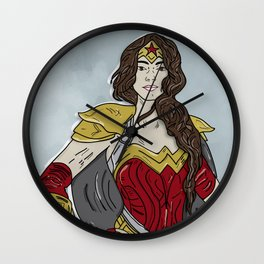 Heroe Competition - Headshot Wall Clock