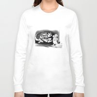 nightmare Long Sleeve T-shirts featuring Nightmare by Michelle Behar