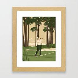 Julius Boros Framed Art Print