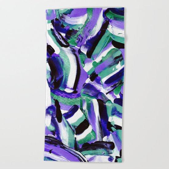 Tara - Abstract Beach Towel